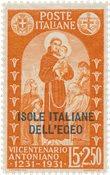 Italien 1931 - Sassone 43 - Postfrisk