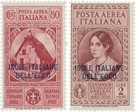 Italien 1932 - Sassone 15+17 - Postfrisk