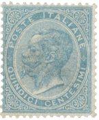 Italie 1863 - Sassone L18 - Neuf