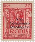 Italien 1930 - Sassone 14 - Postfrisk