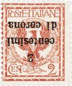 Italie 1919 - Sassone 2aa - Neuf