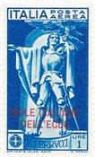 Italien 1930 - Sassone PA2 - Postfrisk