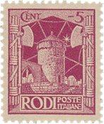 Italien 1929 - Sassone 3 - Postfrisk