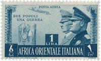 Italien 1941 - Sassone 20 - Postfrisk