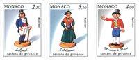 Monaco 1991 - YT 1794/1796 - Neuf