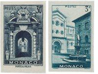 Monaco 1951 - Michel 369/370 - Postfrisk