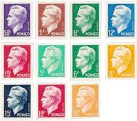 Monaco 1950-1951 - Michel 344/350+365/368 - Neuf