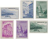 Monaco 1946 - YT 275/280 - Neuf