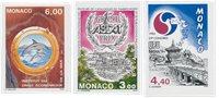 Monaco 1994 - YT 1938-1943-1944 - Neuf