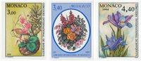Monaco 1991-1994 - YT 1759, 1868, 1932 - Postfrisk