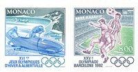 Monaco 1992 - YT 1811/1812 - Postfrisk