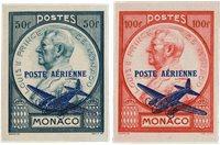 Monaco 1946 - YT PA13/PA14 - Neuf