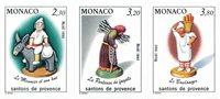 Monaco 1990 - YT 1743/1745 - Neuf