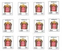 Monaco 1985-1986 - YT T75/T86 - Postfrisk