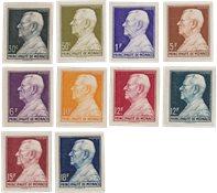 Monaco 1948-1949 - YT 302/306 - Neuf