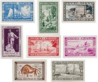 Monaco 1949 - Michel 324/331 - Neuf