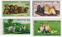 Monaco 1976-1981 - Michel 1051+1208+1232+1280 - Neuf
