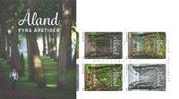 Åland - Quatre saisons - Carnet neuf