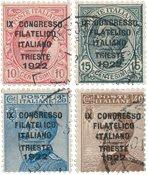 Italie - 1922 - Sassone 123/26 - oblitéré