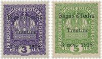 Italie 1918 - Sassone 1/2 - Neuf