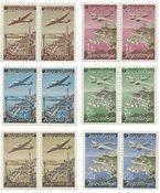 Jugoslavien 1947 - Michel 515/520 I/II - Postfrisk