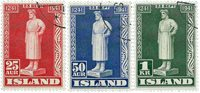 Island - AFA 224-226 - Postfrisk