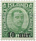 Island 1921-22 - AFA 106 - Postfrisk