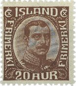 Island 1921-22 - AFA 101 - Postfrisk