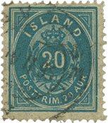 Islande - AFA 14 obl.