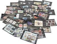 Worldwide - 500 different stock cards - Box B