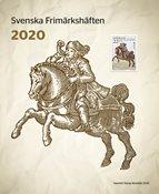 Sverige - Hæfte årsmappe 2020 - Postfrisk hæfteårsmappe