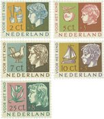 Holland 1953 - NVPH 612-616 - Postfrisk