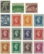 Holland 1944-1946 - NVPH 428-442 - Postfrisk