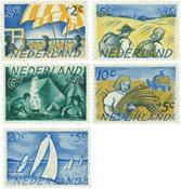 Holland 1949 - NVPH 513-517 - Postfrisk