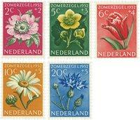 Nederland 1952 - NVPH 583-587 - Postfris