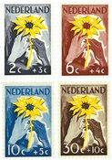 Nederland 1949 - NVPH 538-541 - Postfris