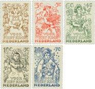 Nederland 1949 - NVPH 544-548 - Postfris