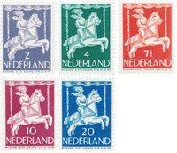 Holland 1946 - NVPH 469/73 - Postfrisk