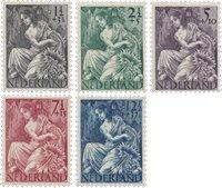 Holland 1946 - NVPH 449/53 - Postfrisk