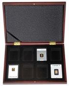 Møntkassette VOLTERRA til 8 guldbarrer i blisteremballage