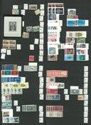 Luxembourg - Postfrisk samling i indstiksbog
