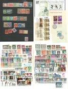Belgien - Ubrugt, postfrisk og stemplet samling i indstiksbog