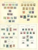 Tchécoslovaquie - Collection neuve avec ch. et obl. 1918-1942