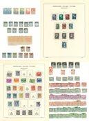Holland - Samling 1864-1997 i album og indstiksbog