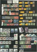 Monaco - Postfrisk, ubrugt og stemplet samling 1885-1980