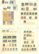 Belgien - Postfrisk, ubrugt og stemplet samling 1849-1966