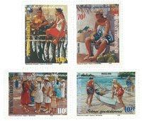 Polynesien - YT 574/77 - Postfrisk