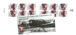 Frimærkehæfte nr. 28 EUROPA - Centralt dagstemplet