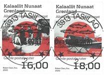 EUROPA - Gamle postale ruter - Centralt dagstemplet - Sæt