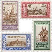 Nederland Indië - Jeugdzorg 1930 (nr. 167-170, postfrisk)